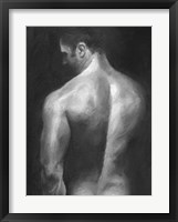 Framed Male Nude I