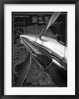 Framed Vintage Plane II