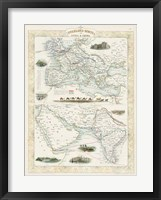 Framed Overland Routes- India & China