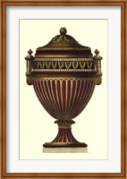 Framed Empire Urn II