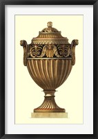 Framed Empire Urn III