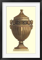 Framed Empire Urn IV