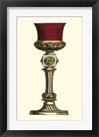 Framed De La Fosse Goblet I