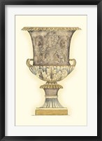 Framed Dusty Urn Sketch III