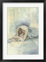 Ballerina Repose II Framed Print