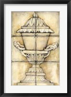 Ceramic Urn I Framed Print