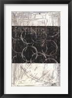 Kinetic Geometry I Framed Print