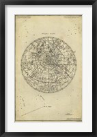 Framed Antique Astronomy Chart I