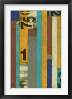Framed Primary Numbers I