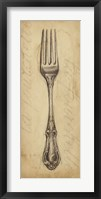 Framed Antique Fork