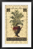 Framed Palm of the Islands II