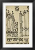 Framed Vintage Gate II