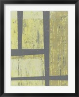 Zest Abstract II Framed Print