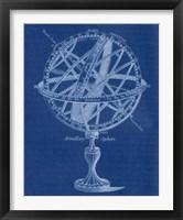 Framed Armillary Sphere I