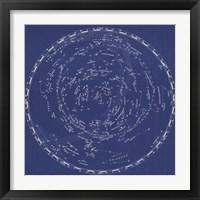 Framed Stars & Constellations Chart