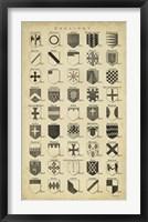 Framed Vintage Heraldry I