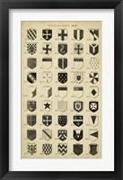 Framed Vintage Heraldry II