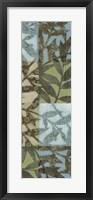 Framed Swaying Fronds Panel I