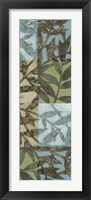 Framed Swaying Fronds Panel I