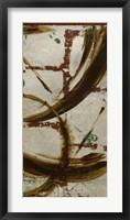 Accentual Silver II Framed Print