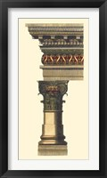 Framed Column & Cornice I