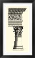 Framed B&W Column & Cornice II