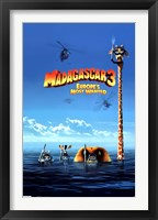 Framed Madagascar 3 - Europe's Most Wanted