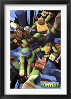 Framed Teenage Mutant Ninja Turtles - Attack