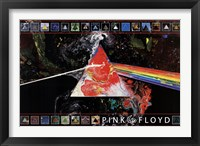 Framed Pink Floyd Dark Side of the Moon - 40th A