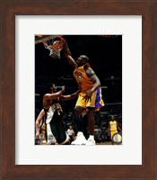 Framed Shaquille O'Neal Action