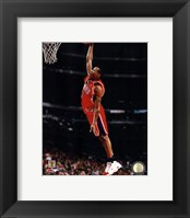Framed Allen Iverson 1997 Action