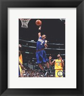 Framed Allen Iverson 1999 Action