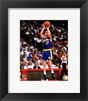 Framed Chris Mullin 1993-94 Action