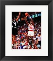 Framed Clyde Drexler 1994-95 Action