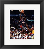 Framed Clyde Drexler 1998 Action