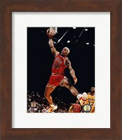 Framed Dennis Rodman 1995-96 Action
