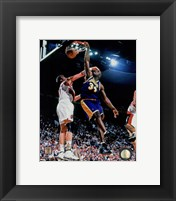Framed Shaquille O'Neal 1997-98 Action