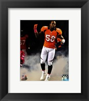 Framed Von Miller 2012 Action