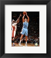 Framed Danilo Gallinari 2012-13 Action
