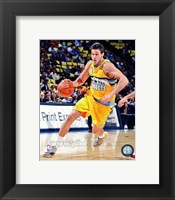 Framed Danilo Gallinari 2012- 13 Action
