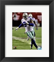 Framed DeMarcus Ware 2012 Running Action