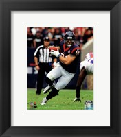 Framed Owen Daniels 2012 Action