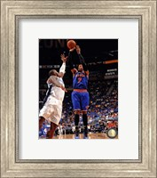 Framed Carmelo Anthony 2012-13 Action in basketball