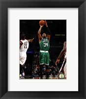 Framed Paul Pierce 2012-13 Action