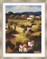 Framed Petite Village