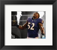 Framed Ray Lewis 2012 Spotlight Action
