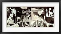 Framed Guernica