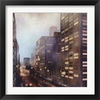 Framed Twilight City