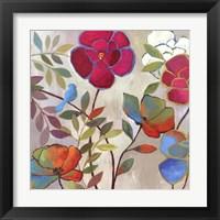 Floral Impressions I Framed Print