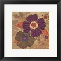 Framed FALL FLOWERS I - MINI